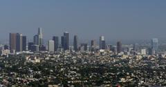 4K Los Angeles 15 LA Downtown Stock Footage