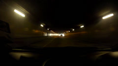 Driving out from Malaysian Smart Tunnel Stock Footage