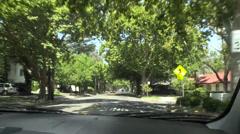 suburbs of Sacramento - stock footage