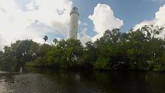 Sulphur Springs Water Tower, Tampa Stock Footage