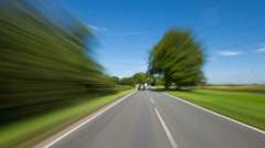 Car Point of view on the A31 in Alton, Hampshire Stock Footage