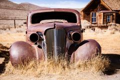 Old abandoned car Kuvituskuvat