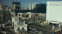 Las vegas strip day to night Stock Footage