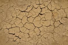 Rutikuiva maaperän kuivuuden aikana ja kuiva kausi Kuvituskuvat