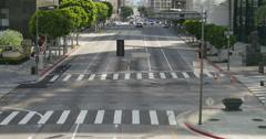 4K Street Timelapse 05 LA Downtown Stock Footage