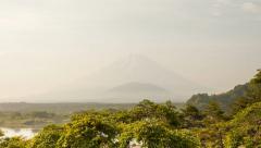 1080 - MOUNT FUJI TIMELAPSE - COUDSCAPE - JAPAN Stock Footage