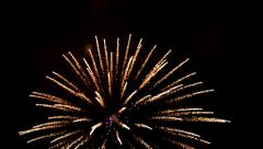 Fireworks 04 July 4th 2014 Closeup-ProRes422 Stock Footage