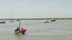 River Ore, Orford, Suffolk, England, United Kingdom Stock Footage