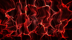 Curtain Red, Wave Background Stock Footage