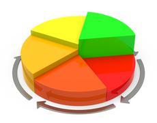 The statistic Stock Illustration