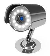 The observation camera Stock Illustration