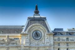 Musee d'orsay Stock Photos