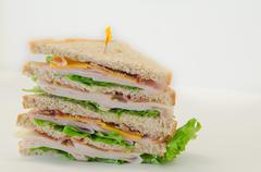 Multi Level Sandwich Stock Photos