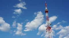Telecommunication Tower Stock Footage