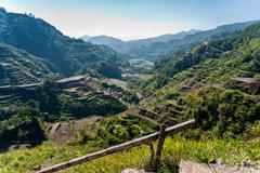 rice-terraces of banaue - stock photo