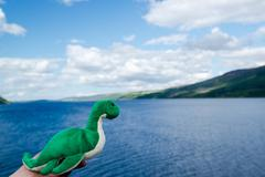 Nessie: The Loch Ness Monster - stock photo