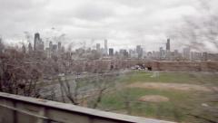 Chicago Handheld 1 Stock Footage