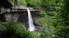 Carpenter Falls, Cayuga County, New York. 1080/30 37s Stock Footage