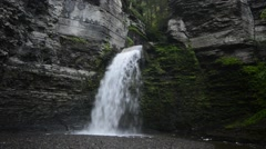 Havana Glen Falls, Montour Falls, New York. 1080/30 37s Stock Footage