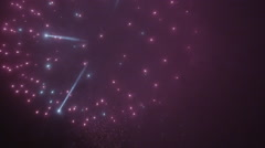 Fireworks in 4K slow motion stock video footage Stock Footage