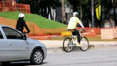 Biking Stock Footage
