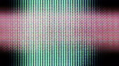 Television Screen Pixels, TV Noise 0881 - HD, 4K - stock footage
