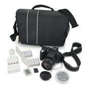 Camera and accessories Stock Photos