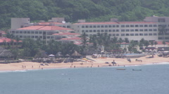 Resort in Huatulco, Mexico Stock Footage
