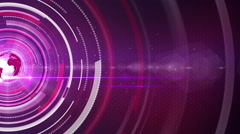 Purple abstract for news background Stock Footage