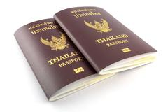 Thai passport Kuvituskuvat
