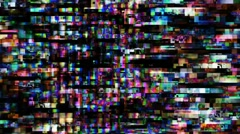 TV Noise 0890 - 720p - stock footage