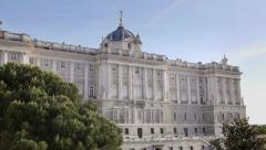 6of9 View of Madrid, Spain, Plaza Mayor - stock footage