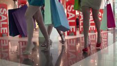 Sale Rush Stock Footage