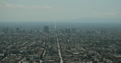 4K video of the boulevards Los Angeles Stock Footage
