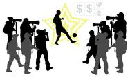 Stock Illustration of Soccer star concept