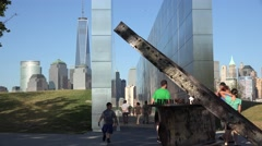 911 Memorial, September 11th, Terrorism Stock Footage