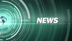 green news generic - stock footage
