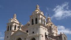 Time lapse from the The Cathedral of Córdoba Stock Footage