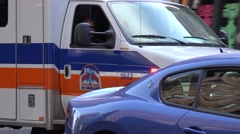Ambulance, Emergency Response, EMT - stock footage