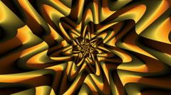 Rotate Morphing Flower Orange - LoopNeo VJ Loops HD 1920X1080 Stock Footage