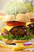 american cuisine - stock photo