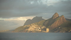 1080HD timelapse of coastline of Rio de Janeiro Stock Footage