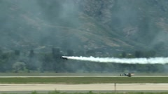 2014 Warriors Over the Wasatch Air Show Stock Footage