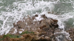 Waves in the Bay of Biscay Stock Footage