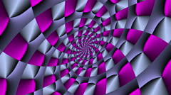 Rotating vortex square with color changes violet - LoopNeo VJ Loops HD 1920X1080 Stock Footage