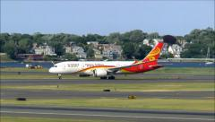 Hainan 787 Dreamliner Stock Footage