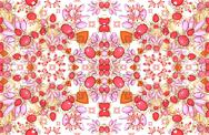 Stock Illustration of luxury collage pattern