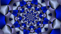Rotating Star square with color changes Grey - LoopNeo VJ Loops HD 1920X1080 Stock Footage