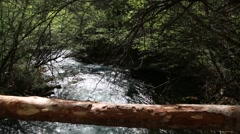 Stream at the jiuzhaigou valley national park in china Stock Footage