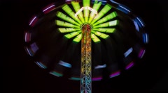 Annual fair in Leiden the Netherlands  02 4K Stock Footage